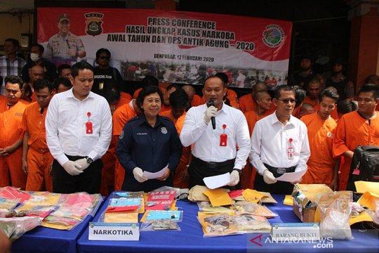 Polisi tangkap dua pengedar narkotika jaringan Malaysia-Bali