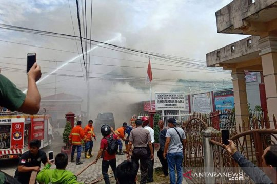 Rutan Kabanjahe Sumut ricuh, Polisi: Tak ada korban jiwa