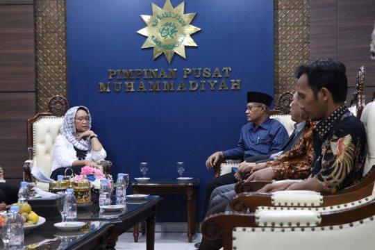 Menlu-Ketum PP Muhammadiyah bahas konsistensi dukungan untuk Palestina