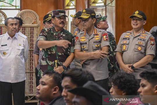 Panglima TNI dan Kapolri apresiasi relawan karhutla Riau