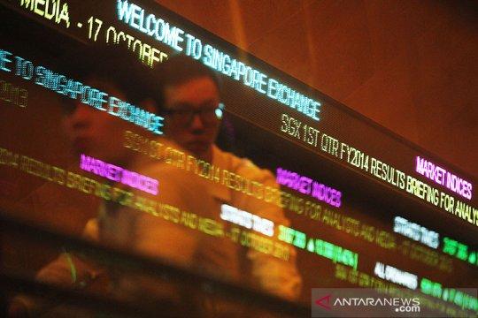 Saham Singapura menguat untuk hari kedua, indeks STI naik 0,68 persen