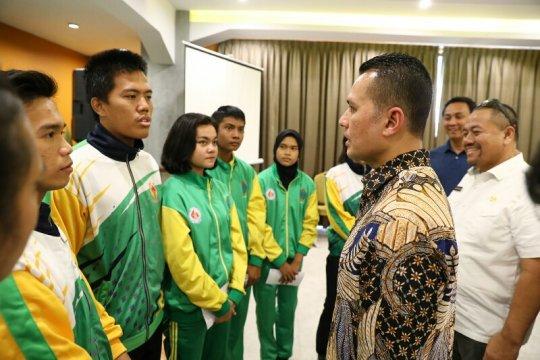 Wagub Sumut serahkan tali asih kepada atlet berprestasi