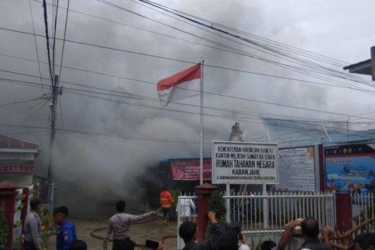 Empat narapidana Rutan Kabanjahe dipindahkan ke Lapas Medan
