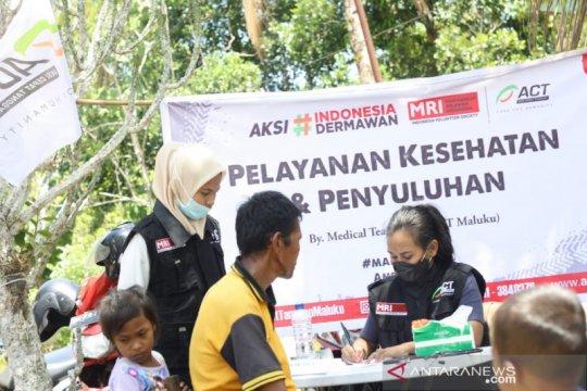 Layanan dan penyuluhan kesehatan digelar MRI-ACT di Maluku Tengah