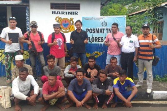 Lanal Maumere tangkap 10 nelayan gunakan bom ikan di Flores Timur