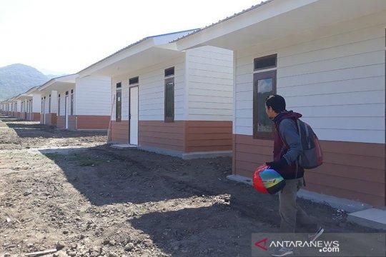 Hunian tetap untuk korban bencana Palu ditargetkan rampung April 2020