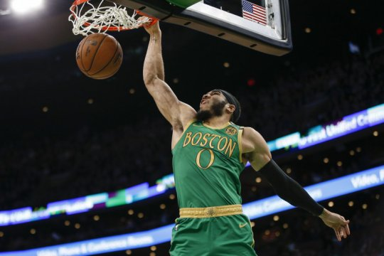 Hujan poin dari Jayson Tatum warnai kemenangan Celtics