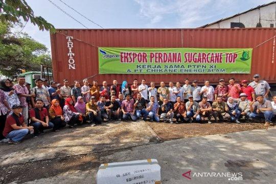 Ketiga kalinya, PTPN XI ekspor daun tebu kering ke Jepang