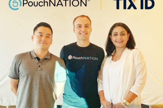 "TIX ID lakukan pendanaan seri B untuk ""startup"" PouchNATION"
