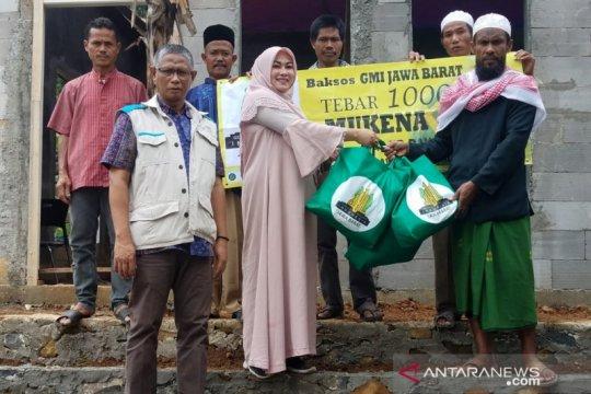 YBM PLN kirim 1.000 mukena ke wilayah bencana di Kabupaten Bogor