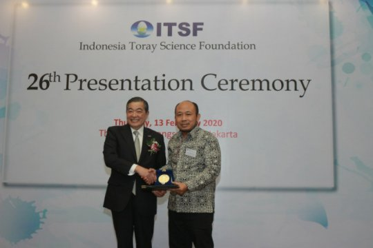 Dosen UNS sabet ITSF lewat penelitian baterai litium