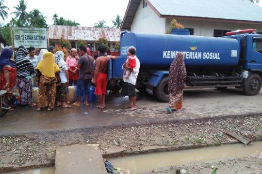 BPBD Pasaman Barat mulai salurkan air bersih kepada korban banjir