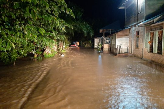 Ratusan rumah terendam banjir di Ranah Batahan Pasaman Barat