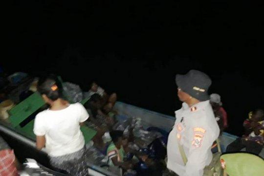 Polisi: Tim masih lakukan pencarian korban kecelakaan laut Papua