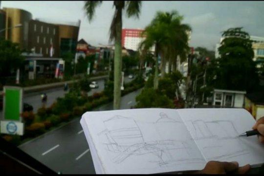 Lewat gambar, Komunitas Sketchers Pontianak informasikan situs sejarah