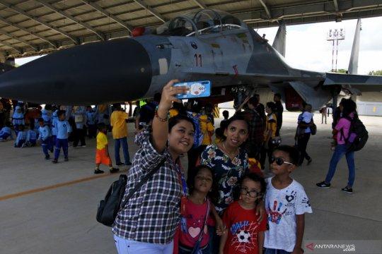 Pangkalan TNI AU Eltari pamerkan empat Suhoi Su-30 bagi publik