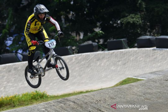 Jakarta International BMX, pebalap Latvia dominasi nomor elite