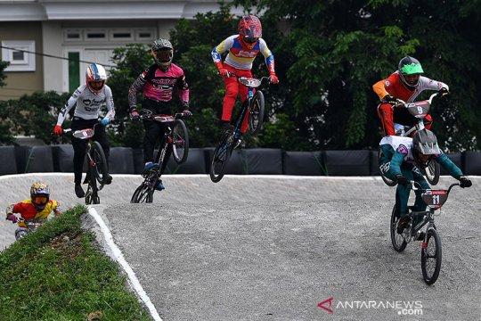 Pebalap Indonesia gagal bersinar di Jakarta International BMX 2020