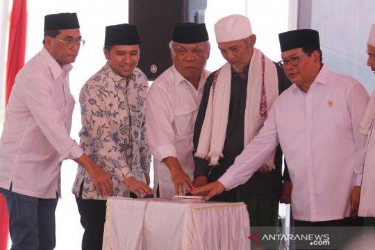 Tiga menteri hadiri peresmian rusunawa untuk santri Lirboyo Kediri