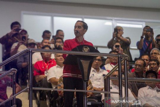 Presiden Jokowi harap stadion Manahan jadi tuan rumah Piala Dunia U20