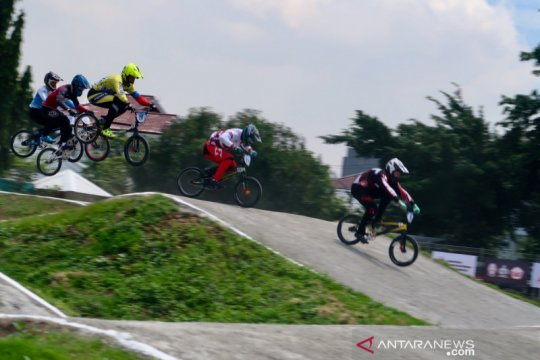 Indonesia kembali gagal raih gelar di Jakarta International BMX 2020