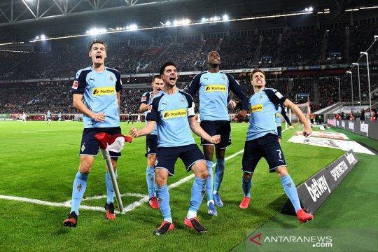 Wolfsburg bawa pulang satu poin setelah imbang 1-1 di markas Gladbach