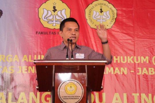 Sekjen MPR ajak alumni FH Unsoed saling mendukung untuk Indonesia