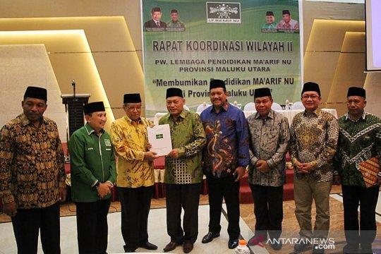Ketua Umum PBNU harapkan pendidikan Ma'arif membumi di Maluku Utara