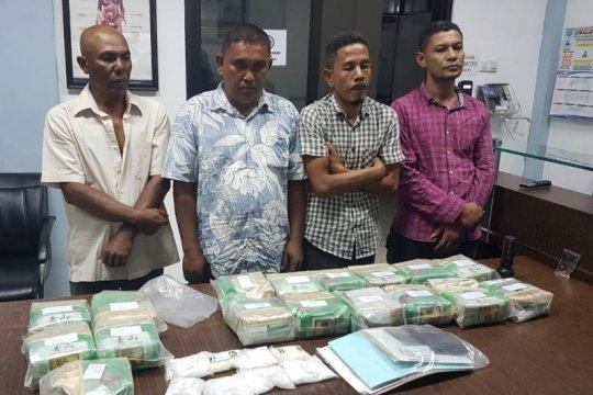 BNN gagalkan penyeludupan 33 kg sabu asal Malaysia