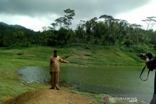 Meski hujan mengguyur, Debit Waduk Sermo Kulon Progo belum normal