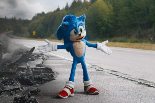 """""""Sonic the Hedgehog"""" salip """"Birds of Prey"""""""