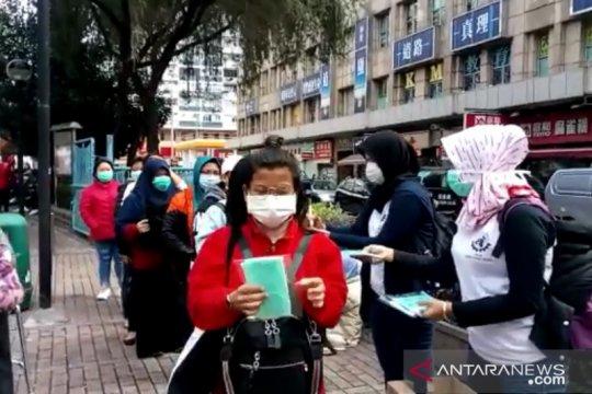 Cegah penularan Covid-19, SBMI bagikan ribuan masker di Hong Kong