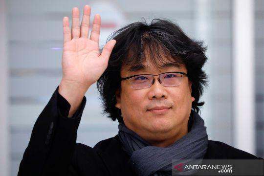 Sutradara film 'Parasite' Bong Joon-ho tiba kembali di Korsel