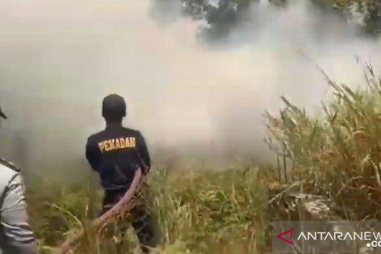 Sehari, dua kebakaran lahan terjadi di Kabupaten Bintan