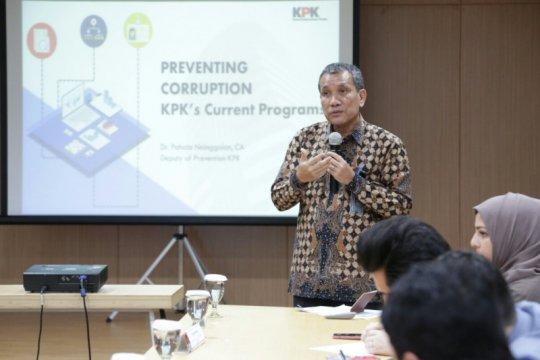 KPK terima kunjungan ARVA Afghanistan belajar pengelolaan LHKPN