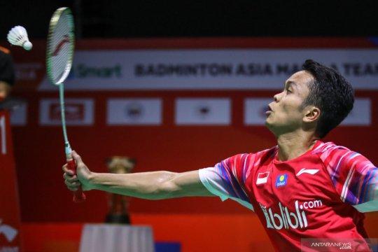 Anthony tegaskan dominasinya atas Heo di  babak pertama Thailand Open
