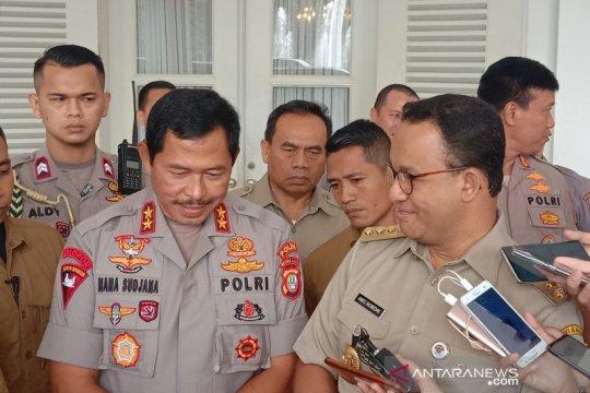 Kapolda Metro Jaya sambangi Anies di Balai Kota perkuat kolaborasi