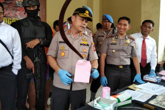 Polresta Bogor Kota ungkap tiga kasus pidana
