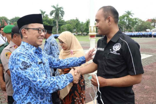 5.000 masker dikirimkan Pemkab Indramayu untuk pekerja migran