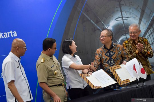Anies sebut semua stasiun MRT fase 2 dirancang untuk terintegrasi