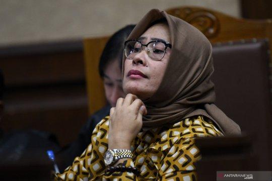 Mirawati Basri dieksekusi ke Lapas Wanita Tangerang