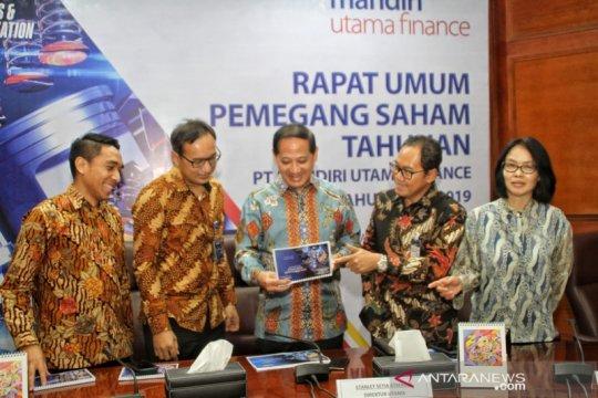 Mandiri Utama Finance targetkan pembiayaan Rp8,8 triliun