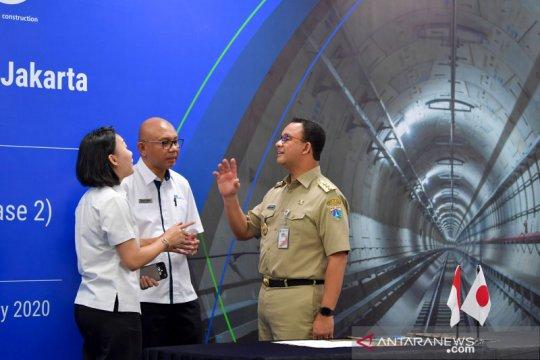 Pembangunan MRT Jakarta fase kedua