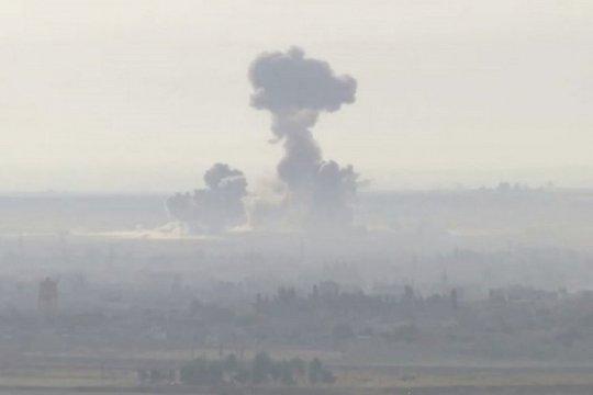 Turki serang militer Suriah usai tentaranya tewas