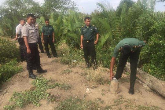 Operator alat berat di Banda Aceh temukan mortir masa perang Jepang