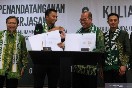 Persebaya-Universitas Muhammadiyah Surabaya jalin kerja sama