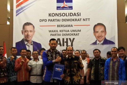Demokrat NTT usung AHY di kongres 2020