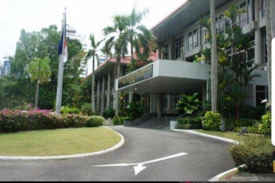 KBRI: Terdapat 77 kasus COVID-19 di Singapura