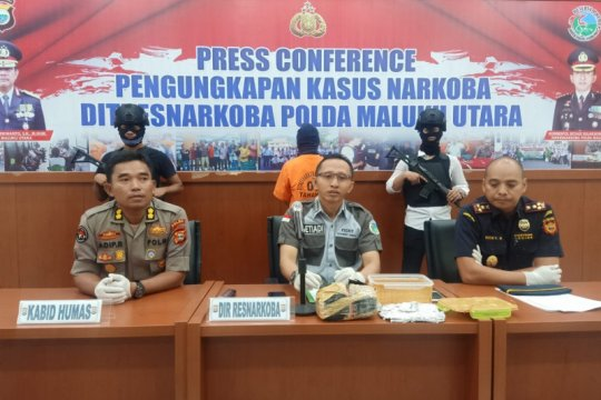 Polda Maluku tangkap mahasiswa pengedar narkoba