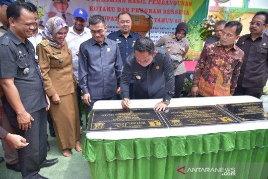 Bupati Bekasi resmikan pembangunan Kotaku dan Berseka